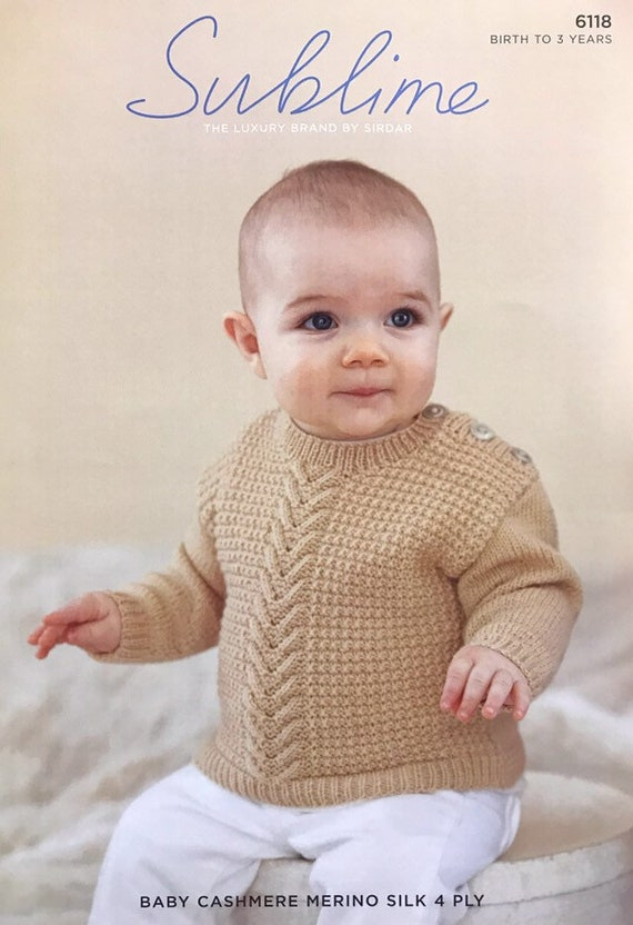 16-20 inch chest-nice Baby girl diamond patterned knitting pattern in 4ply wool