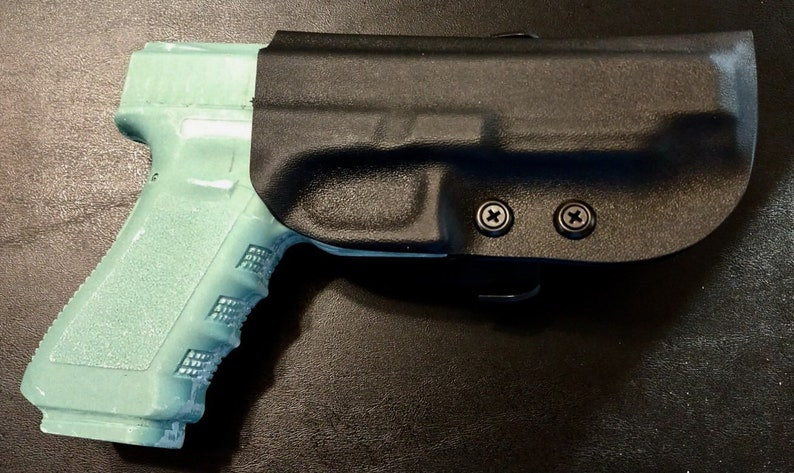 Glock 34 9mm and Glock 35  40 cal Kydex Holster - Adjustable Retention and  Cant - FREE Shipping!