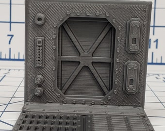 Doors - SciFi - Fat Dragon Games - DragonLock - DND - Pathfinder - RPG - Terrain - Space - Science Fiction  28 mm / 1""