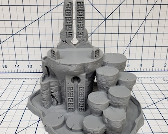 """OpenForge - Places of Power - Chaos Pillar - Tabletop - DND - Pathfinder - RPG - 28 mm / 1"""" - Terrain - Dungeons & Dragons - Warhammer"""