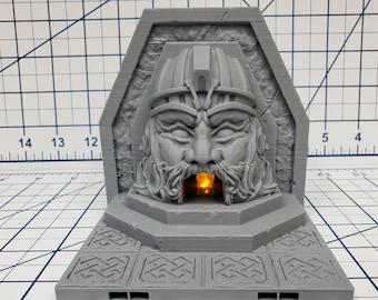"Mountain King - Forge - DragonLock - 28 mm / 1"" - Fat Dragon Games"