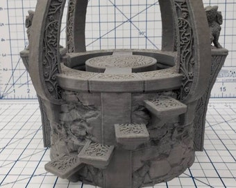 "Well of Souls - OpenForge - Places of Power - Tabletop - DND - Pathfinder - RPG - 28 mm / 1"" - Terrain - Dungeons & Dragons - Warhammer"