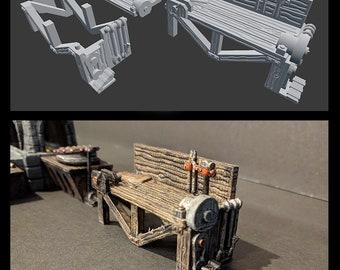 Blacksmith Workshop Tools - Hero's Hoard - DND - Pathfinder - RPG - Tabletop - EC3D