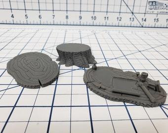 "The Forest of Oakenspire - War Table Set - Hero's Hoard - DND - Pathfinder - Dungeons & Dragons - RPG - Tabletop - EC3D - 28 mm - 1"""
