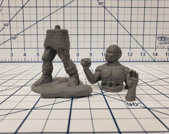 "Hill Giant - DND - Pathfinder - RPG - Dungeon & Dragons - Miniature - Mini - 28 mm / 1"" - Fat Dragon Games"