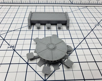 Tables - Ignis Quadrant - Starfinder - Cyberpunk - Science Fiction - Syfy - RPG - Tabletop - EC3D - Scatter - Terrain