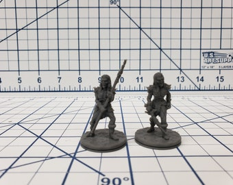 """Wilds of Wintertide - Frost Wight Minis - DND - Pathfinder - Dungeons & Dragons - RPG - Tabletop - EC3D - 28 mm - 1"""""""