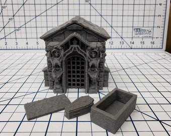 Mausoleum Set - Fat Dragon Games - DND - Pathfinder - RPG - Dungeon & Dragons