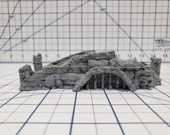 The Wilds of Wintertide Ruins - Bridge - EC3D - RPG - Tabletop - Terrain - DND - Pathfinder - Dungeons & Dragons