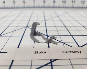 Aircraft - Stuka - German Navy - 1:900 - Wargaming - Axis and Allies - Naval Miniature - Victory at Sea - Tabletop Games - Warships