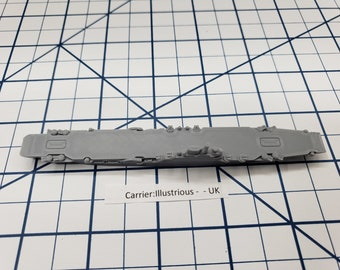 Carrier - Illustrious - Royal Navy - Wargaming - Axis and Allies - Naval Miniature - Victory at Sea - Tabletop Games - Warships
