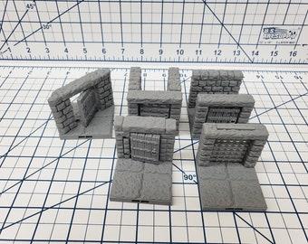 "DragonLock Tile Mystery Box - Grab-bag - DND - Pathfinder - RPG - Terrain - 28 mm / 1"" - Dungeon & Dragons - TTRPG - Battle Map - Diorama"
