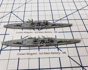 Cruiser - Mogami - IJN - Wargaming - Axis and Allies - Naval Miniature - Victory at Sea - Tabletop Games - Warships