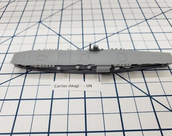 Carrier - Akagi - IJN - Wargaming - Axis and Allies - Naval Miniature - Victory at Sea - Tabletop Games - Warships