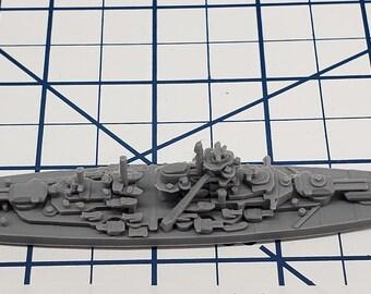 Battleship - Tirpitz - German Navy - Wargaming - Axis and Allies - Naval Miniature - Victory at Sea - Tabletop - Warships