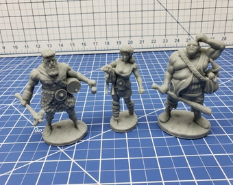 Hill Giant Mini - DND - Pathfinder - Dungeons & Dragons - RPG - Tabletop - Role Playing Game - Miniature - 28 mm