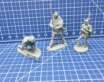 Frost Giant Mini - DND - Pathfinder - Dungeons & Dragons - RPG - Tabletop - Role Playing Game - Miniature - 28 mm