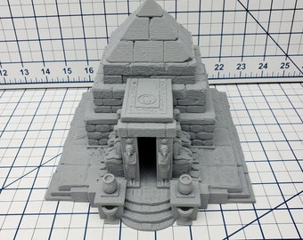 Tomb Set - Desert Adventures - DND - Pathfinder - Dungeons & Dragons - D20 - 28 mm Scale - RPG - Terrain