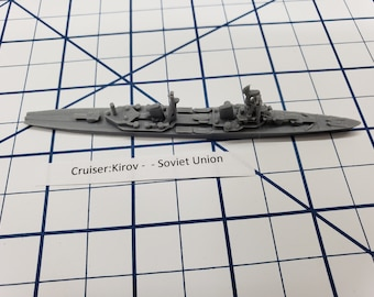 Cruiser - Kirov - Soviet Navy - Wargaming - Axis and Allies - Naval Miniature - Victory at Sea - Tabletop Games - Warships