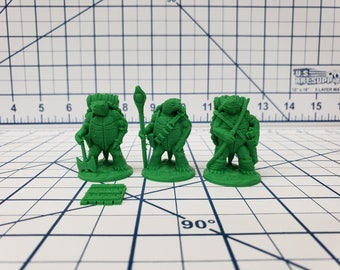 "Turdle Miniatures - DND - Pathfinder - RPG - Dungeon & Dragons - Miniature - Mini - 28 mm / 1"" - Fat Dragon Games"