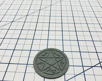 """Skyless Realms - Abyss - Dried Earth - Devil. Trap - DND - Dungeons & Dragons - RPG - Tabletop - EC3D - Miniature - 28 mm - 1"""" scale"""