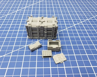 Cargo Items - Spaceship Scatter - Ignis Quadrant - Starfinder - Cyberpunk - Science Fiction - Syfy - RPG - Tabletop - Scatter - Terrain