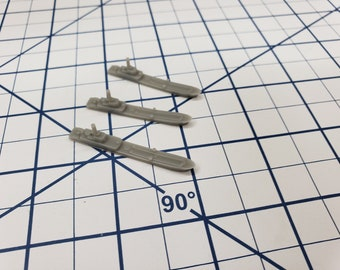 Auxiliary - Polnocny - Landing Craft - Soviet Navy - Wargaming - Axis and Allies - Naval Miniature - Victory at Sea - Tabletop - Warships