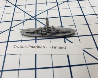 Cruiser - Ilmarinen - Finland - Wargaming - Axis and Allies - Naval Miniature - Victory at Sea - Tabletop Games - Warships