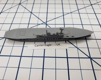 Carrier - Eagle - Royal Navy - Wargaming - Axis and Allies - Naval Miniature - Victory at Sea - Tabletop Games - Warships