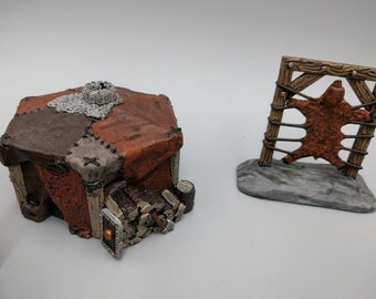 Hero's Hoard Barbarian Village Mix and Match - DND - Pathfinder - Dungeons & Dragons - RPG - Tabletop - EC3D - Terrain