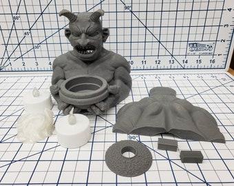 """Dungeon Delve - Demon Statue - DragonLock - DND - Pathfinder - RPG - Dungeon & Dragons - 28 mm / 1"""" - Fat Dragon Games"""