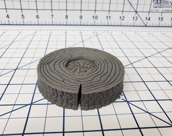 Forest of Oakenspire - Log Table - Hero's Hoard - DND - Pathfinder - Dungeons & Dragons - RPG - Tabletop - EC3D - 28 mm - 1""