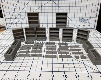 Large General Goods Store Set - Hero's Hoard - EC3D - RPG - Tabletop - Terrain - DND - Pathfinder - Dungeons & Dragons - 28 mm