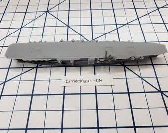 Carrier - Kaga - IJN - Wargaming - Axis and Allies - Naval Miniature - Victory at Sea - Tabletop Games - Warships