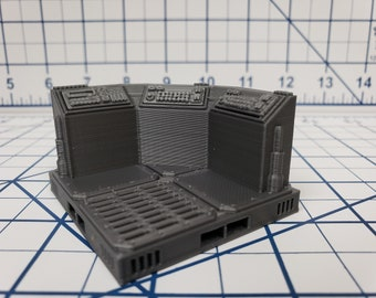 Consoles - SciFi - Fat Dragon Games - DragonLock - DND - Pathfinder - RPG - Terrain - Space - Science Fiction  28 mm / 1""