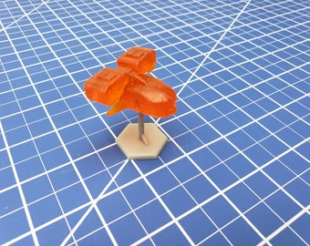 Missile Drone Mini - Ignis Quadrant - Hero's Hoard - Starfinder - Cyberpunk - Science Fiction - Syfy - RPG - Tabletop - EC3D -Miniature