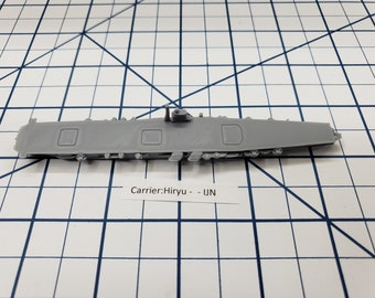 Carrier - Hiryu - IJN - Wargaming - Axis and Allies - Naval Miniature - Victory at Sea - Tabletop Games - Warships