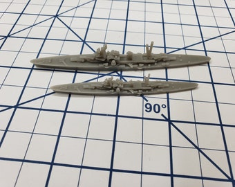 Cruiser - Abruzzi Italian Navy - Wargaming - Axis and Allies - Naval Miniature - Victory at Sea - Tabletop Games - Warships
