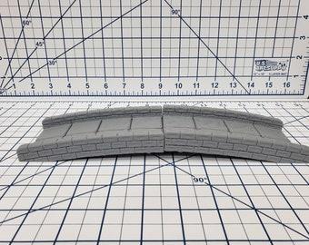 "Chasm Bridge - EC3D - DND - Pathfinder - Dungeons & Dragons - RPG - Tabletop - 28 mm / 1"" - True Tiles"