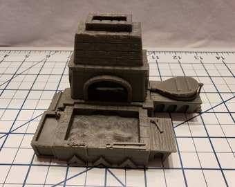 Blacksmith Forge - Part of the Hero's Hoard- Blacksmith Forge and Workshop - DND - Pathfinder - RPG - Tabletop - EC3D