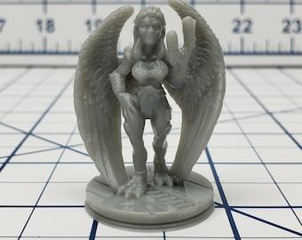 Female Avian Alien Mini - Ignis Quadrant - Hero's Hoard - Starfinder - Cyberpunk - Science Fiction - Syfy - RPG - Tabletop - EC3D -Miniature