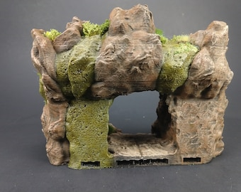 Cavern/Mine Entrance - OpenLock - Openforge - DND - Pathfinder - Dungeons & Dragons - RPG - Tabletop - 28 mm / 1""