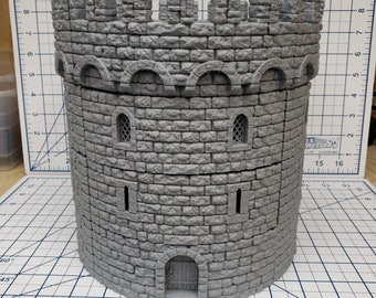 "Ultimate Tower - Huge - DragonLock - DND - Pathfinder - RPG - Dungeon & Dragons - 28 mm / 1"" - Fat Dragon Games"