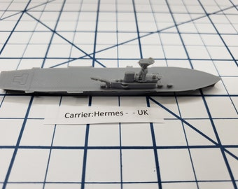 Carrier - Hermes - Royal Navy - Wargaming - Axis and Allies - Naval Miniature - Victory at Sea - Tabletop Games - Warships