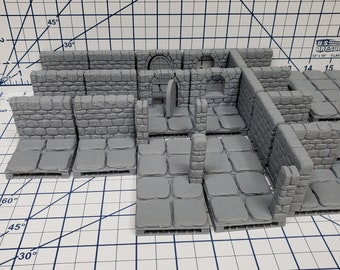 "OpenLock Tile Mystery Box - Grab-bag - DND - Pathfinder - RPG - Terrain - 28 mm / 1"" - Dungeon & Dragons - TTRPG - Battle Map - Diorama"