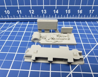 Droid Factory - Workbench - Ignis Quadrant - Starfinder - Cyberpunk - Science Fiction - Syfy - RPG - Tabletop - Scatter - Terrain