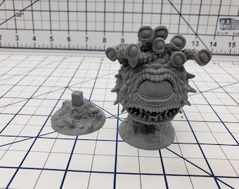 "Eyebeast - Beholder - DND - Pathfinder - RPG - Dungeon & Dragons - Miniature - Mini - 28 mm / 1"" - Fat Dragon Games"