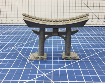 Torii Gate - Asian Adventures - Samurai - Ronin- DND - Pathfinder - Dungeons & Dragons - Test of Honour - RPG - Tabletop - Miniature - 28 mm