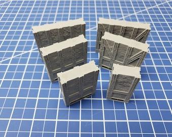 "Half-Timbered External Walls- Dragonshire - Building - Fat Dragon Games - DND - Pathfinder - RPG - Terrain - 28 mm/ 1"" - Dungeon & Dragons"