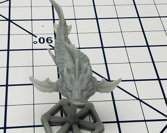 Space Whale 1 - Space Creatures- The Terra Conflict - Starfinder - A Billion Suns - Starmada - War Fleets - Tabletop - EC3D